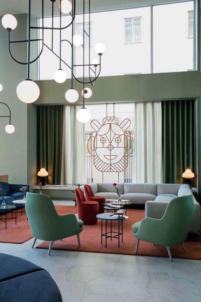 Modernist Barcelo Torre De Madrid Hotel Luxury Home Decor