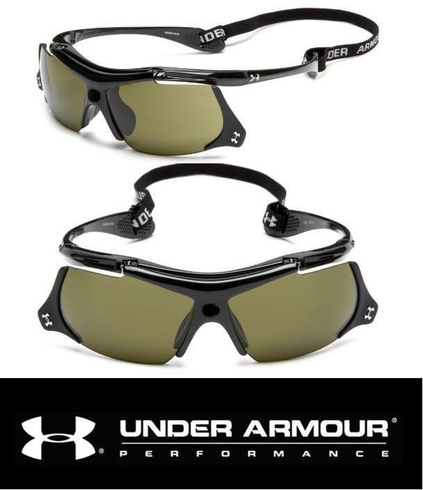 2173e01e00 Under Armour UA THIEF Sunglasses Mens Black Baseball Sport Flip Up Game Day  Lens #Sunglasses #Sport #Baseball