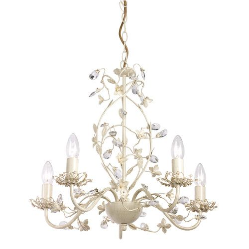 Found it at wayfair co uk lullaby 5 light branched chandelier