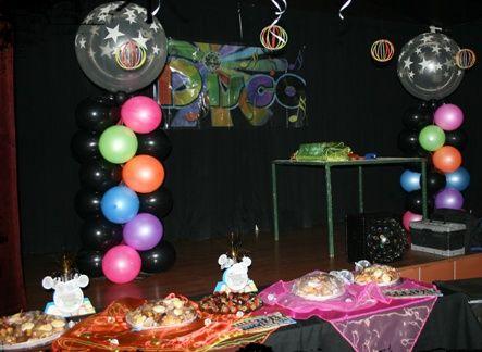 Disco Party Ideas   Disco party   Party ideas in 2019