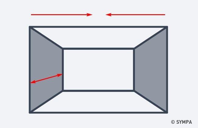 10 astuces pour agrandir visuellement une petite pi ce - Petite chambre adulte ...