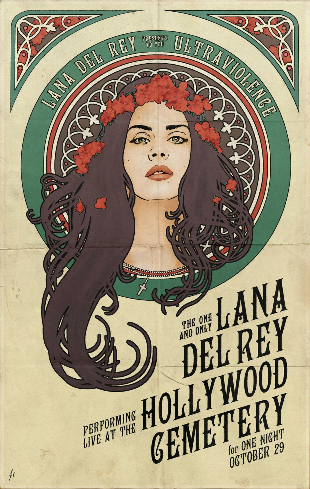 Lana Del Rey High Quality Dictionary Art Print