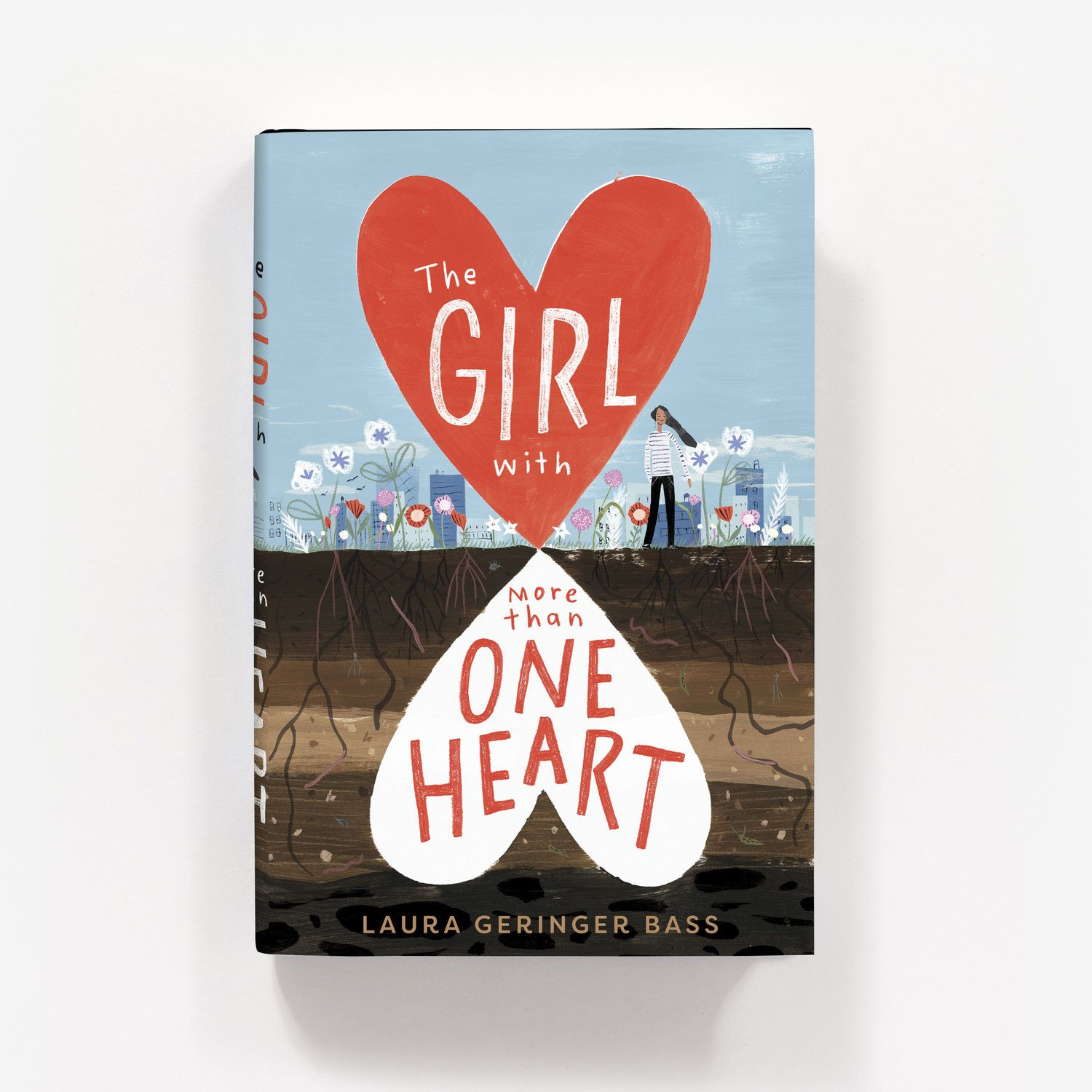Book Cover Art Freelance Jobs : The girl with more than one heart cover illustration by