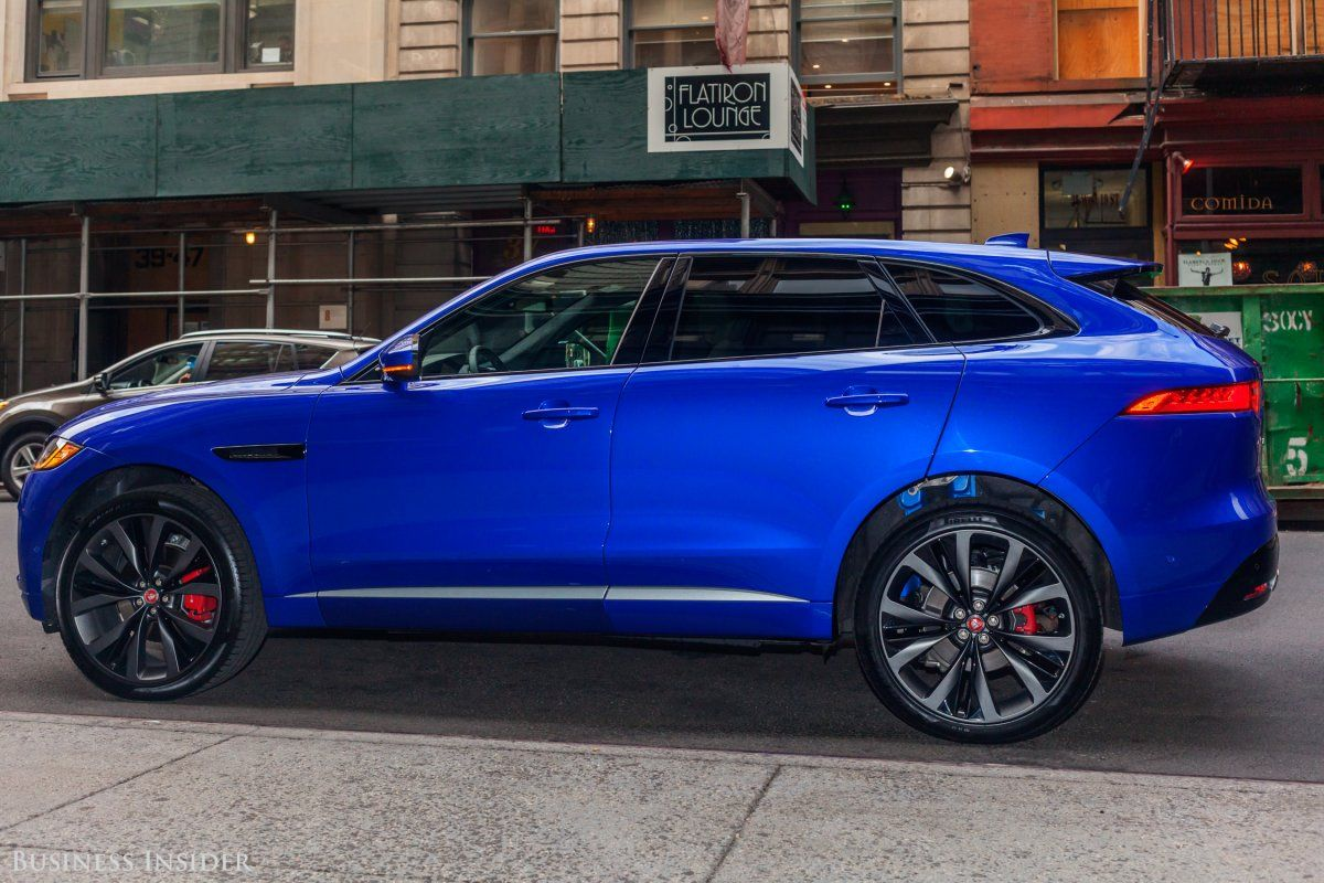 Jaguar S F Pace Is The Most Beautiful Luxury Suv Money Can Buy