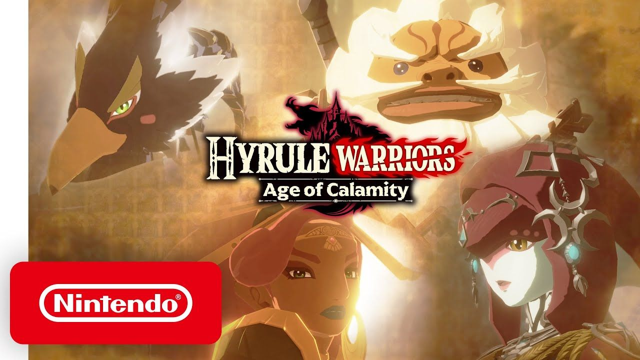 Hyrule Warriors Age Of Calamity Champions Unite Nintendo Switch Youtube Hyrule Warriors Calamity Warrior