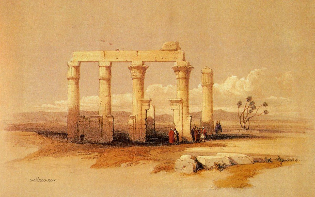 david roberts paintings of the ancient ian civilization and david roberts paintings of the ancient ian civilization and