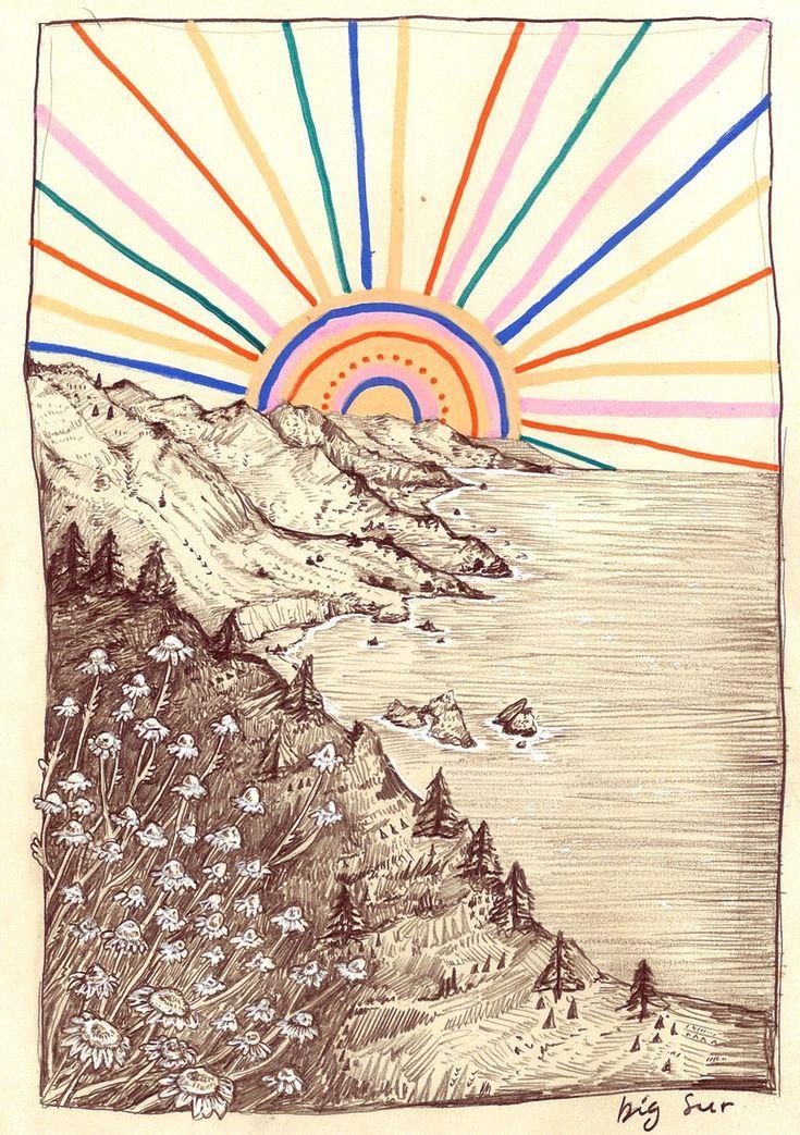 Nein, wohin man geht, aber überall (Pony Gold – Art #illustrationart