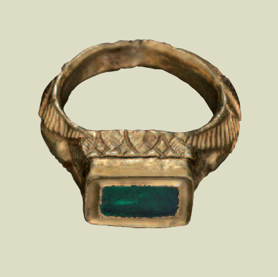 Great A Ring In The Superb Late Fifth Century Hoard Of Jewelry Found In Reggio  Emilia