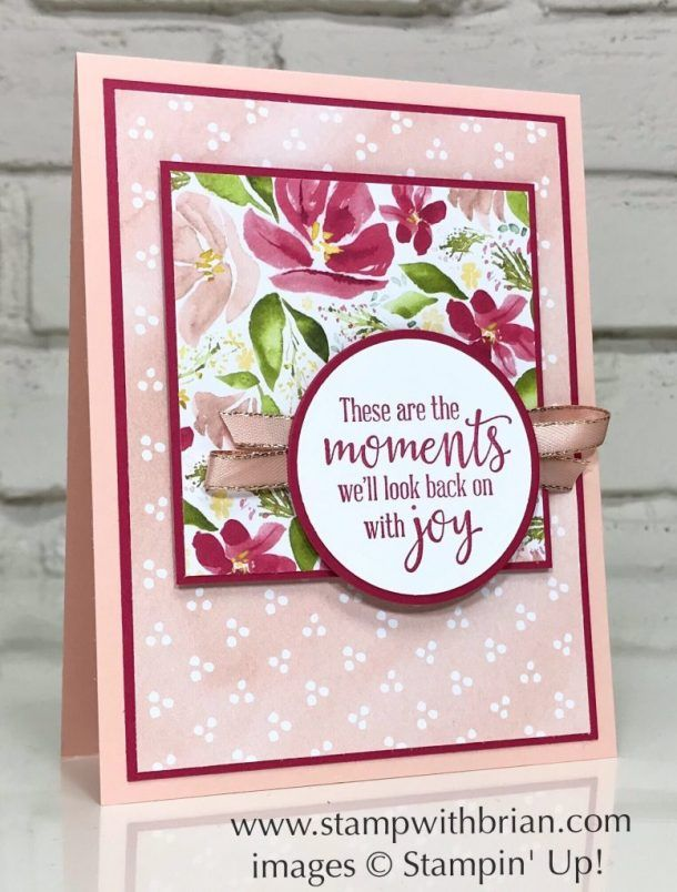 These Are the Moments with Best Dressed 6″ x 6″ Designer Series Paper