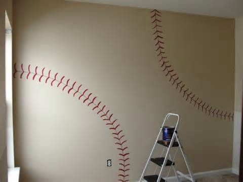 Image detail for -... Decals - Decals - Baseball - Baseball Decorations - Sports Nursery