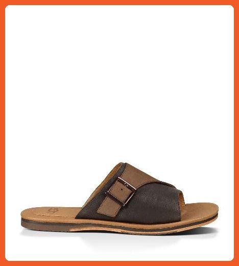 f495107eb01 UGG Men's Watson Grizzly Sandal 7 D - Medium - Sandals for women ...