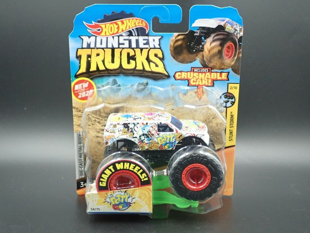Hot Wheels Monster Trucks 2020 Poster Monster Truck Time