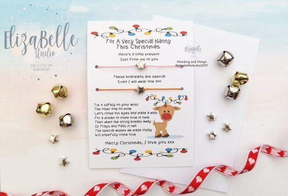 Nanny Christmas Gift, Christmas Eve Box Filler, Gift for Nanny