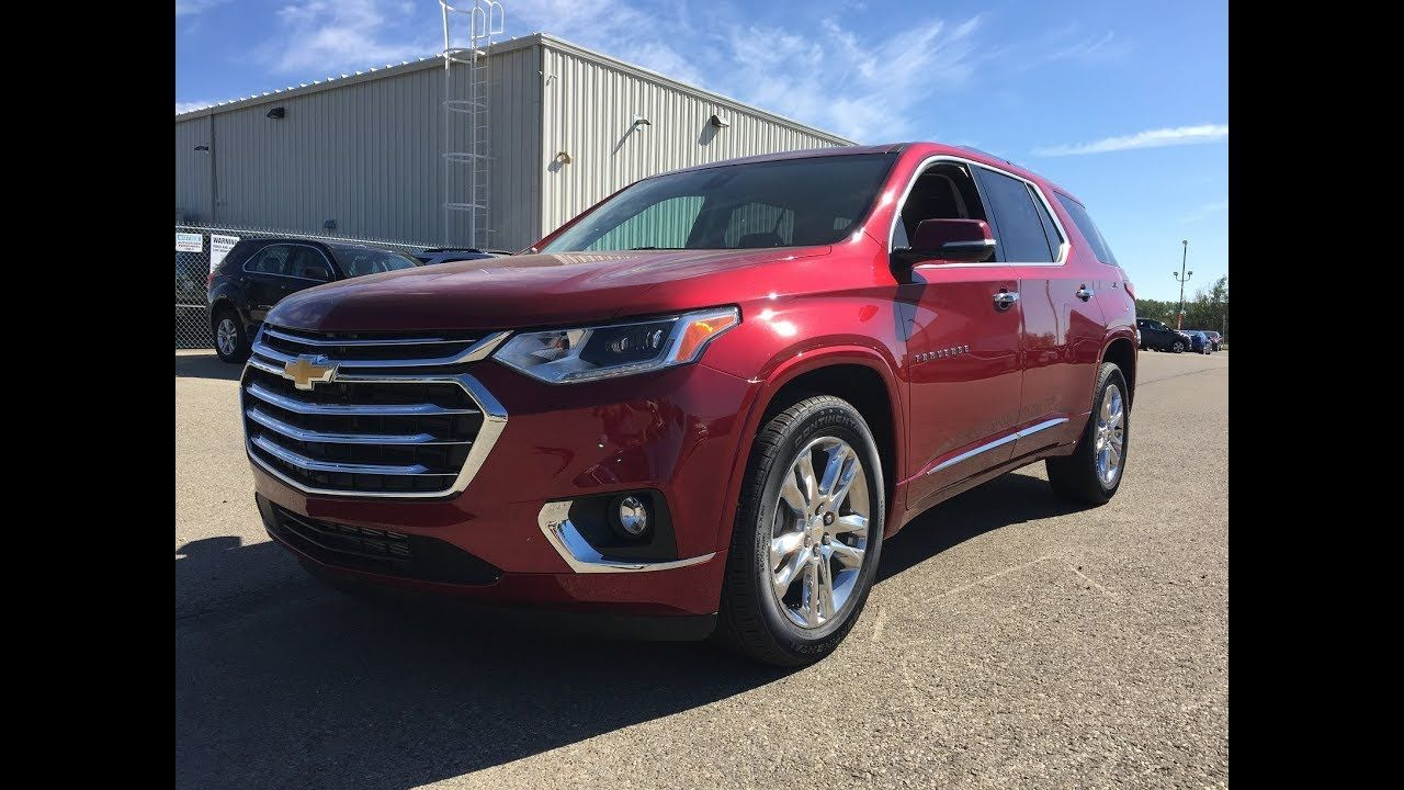New 2018 Chevrolet Traverse High Country Red Awd 2lz 18n017