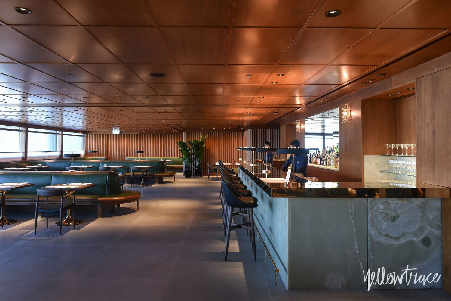 Cathay Pacific\'s The Pier First Class Lounge in Hong Kong by Ilse ...