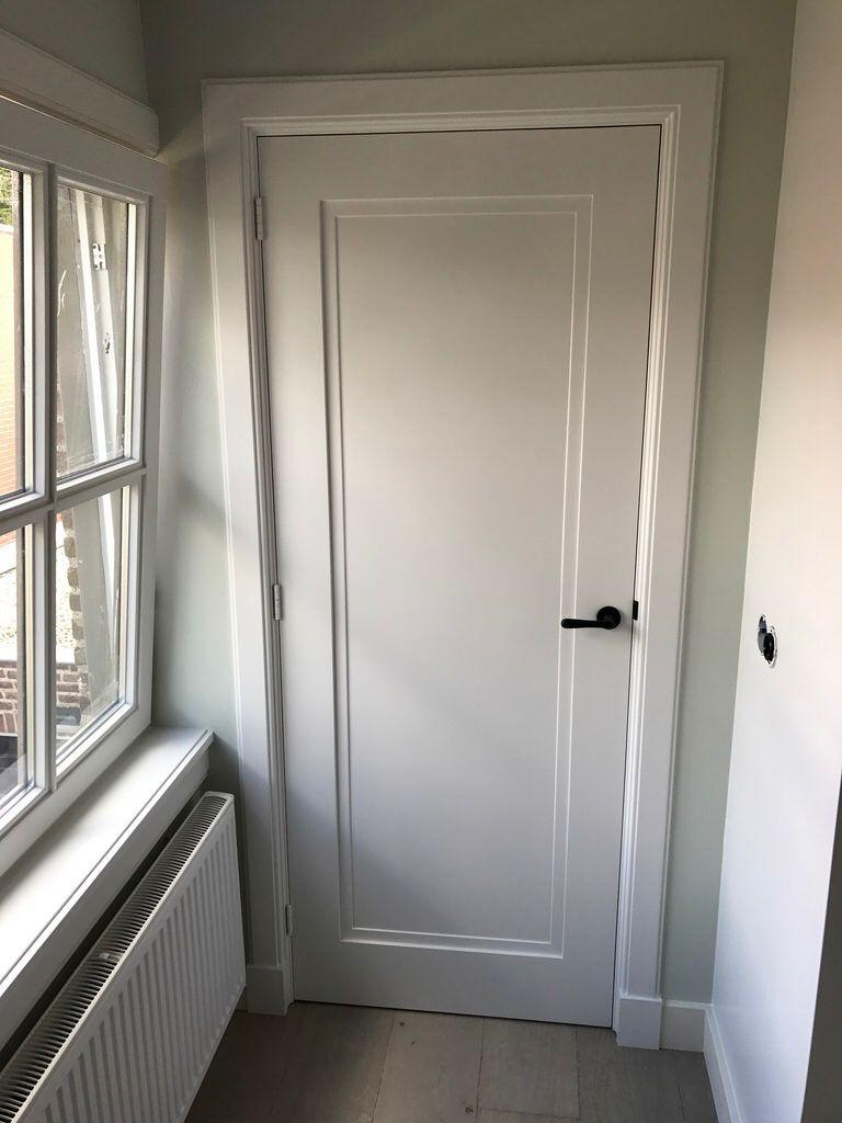 Binnendeur Op Maat Deurlijst 1933 Grenen Met Plintneuten Kleur