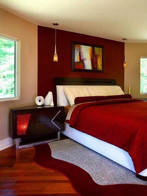 25 Red Bedroom Design Ideas Interiorforlife Contemporary From Pangaea In Hgtv S Designers Portfolio