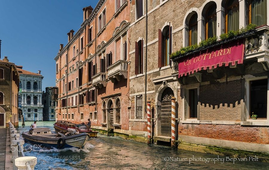 Popular on 500px : Busy water traffic in Venice by bepenwilfrid