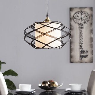 Overstock Pendant Lights Awesome Shop For Harper Blvd Avento Wire Cage Pendant Lampget Free Design Inspiration