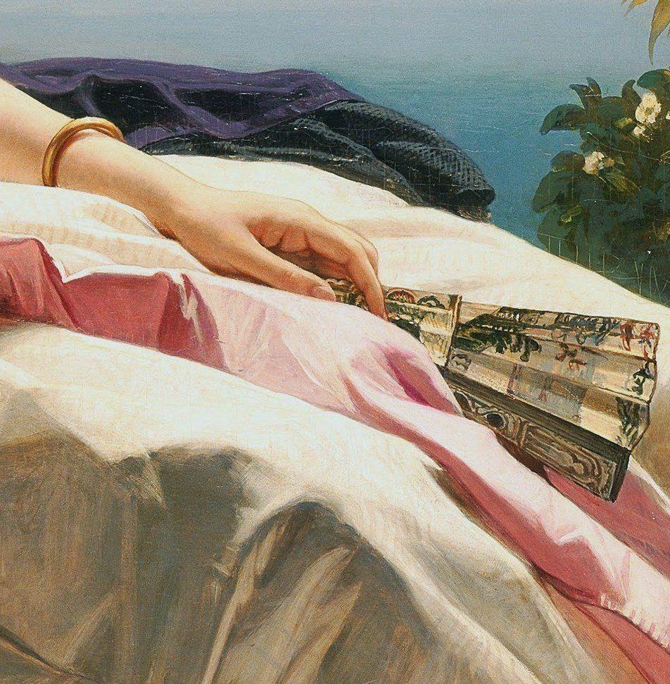 Franz Xavier Winterhalter: Portrait of Leonilla, Princess