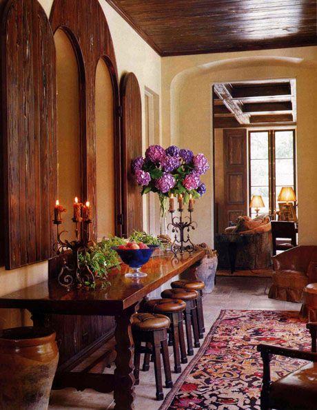 portfolio spanish tuscan mediterranean interior design spanish rh pinterest com