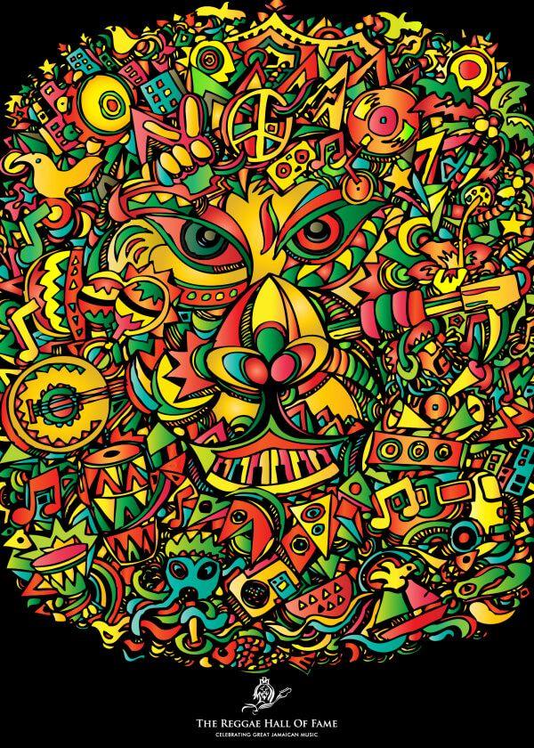 The 2016 International Reggae Poster Contest Graphics Com Reggae Art Art Art Google