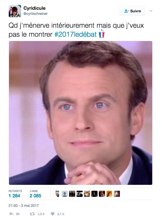 18 tweets qui nous ont bien fait marrer pendant que Macron et Le Pen sentretuaient