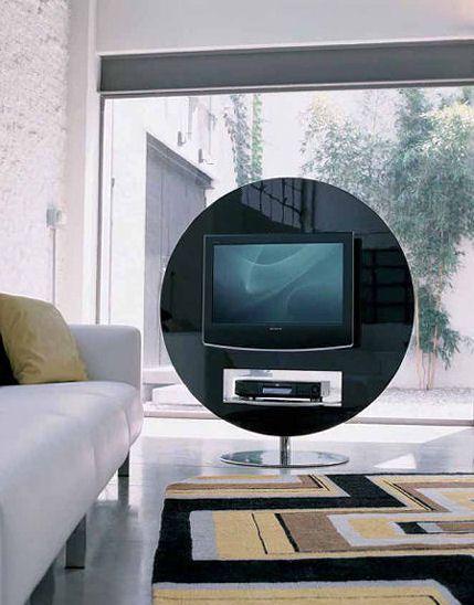 Modern Living Room Lcd Tv Stand Wooden Design Fa18b: Swivel TV Stand From Bonaldo By Gino Carollo