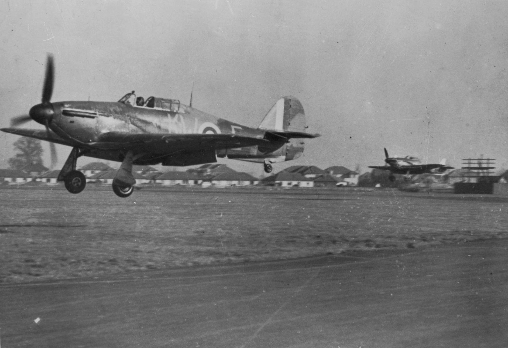 Hawker Hurricane Mk.I, KW-E, No. 615 Squadron RAF, 1940