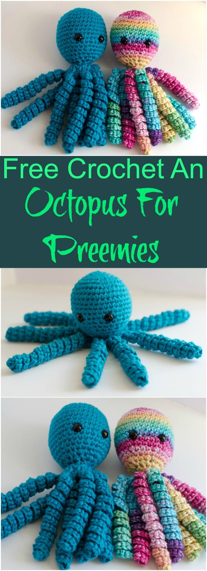 Crochet Octopus Patterns- Free Patterns