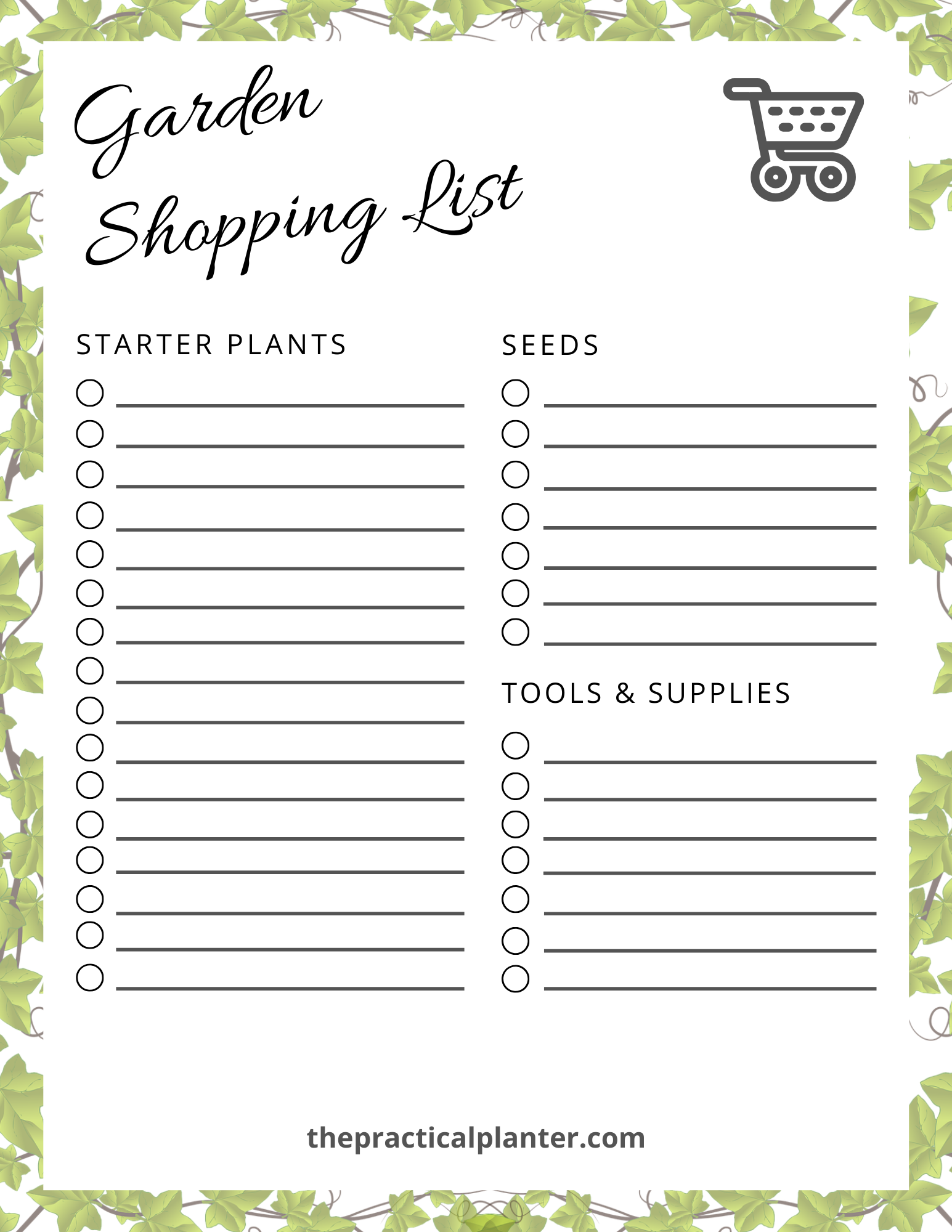Printable Garden Journal The Practical Planter In 2020 Garden Journal Garden Journal Template Spring Gardening Prep
