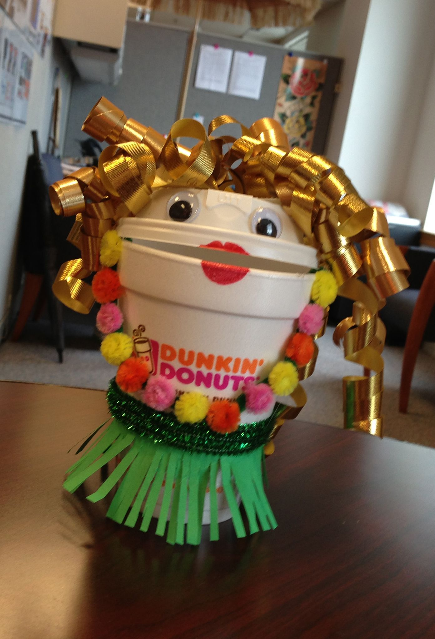 Say Aloha To American Girl S Newest Historical Character: Say 'aloha' To Our Dunkin' Hula Cup!