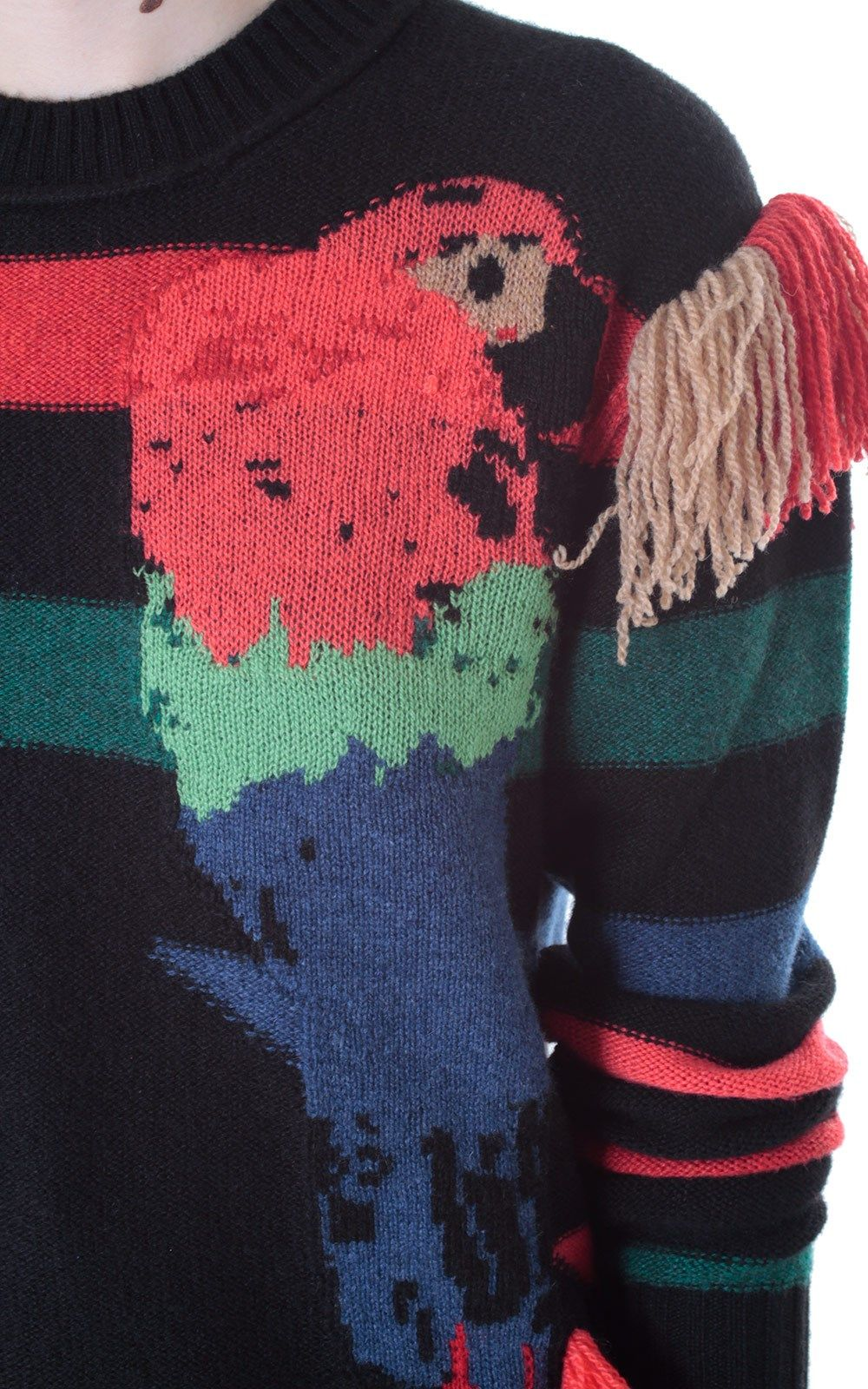 a623a0c13a5f SONIA RYKIEL - Cashmere jacquard sweater