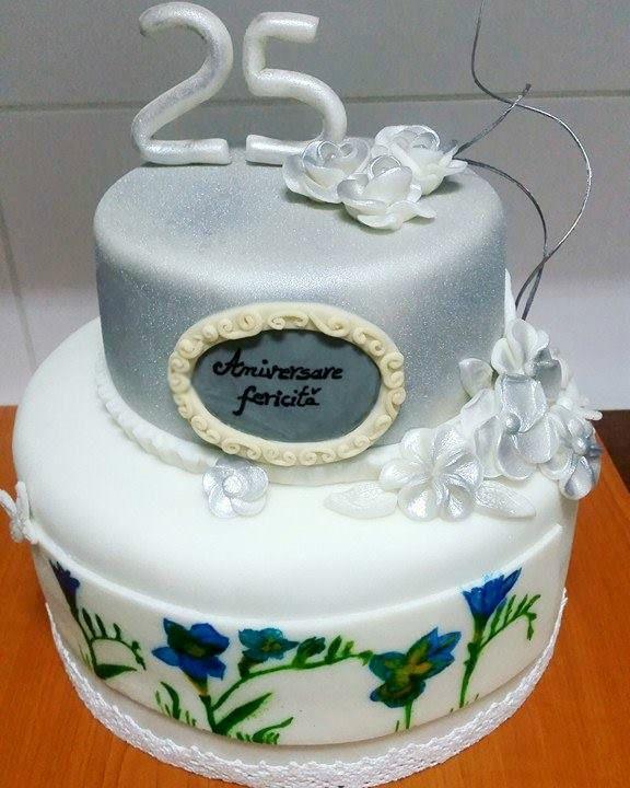 Tort Nunta De Argint Creatiile Clientilor Wedding Cakes Cake