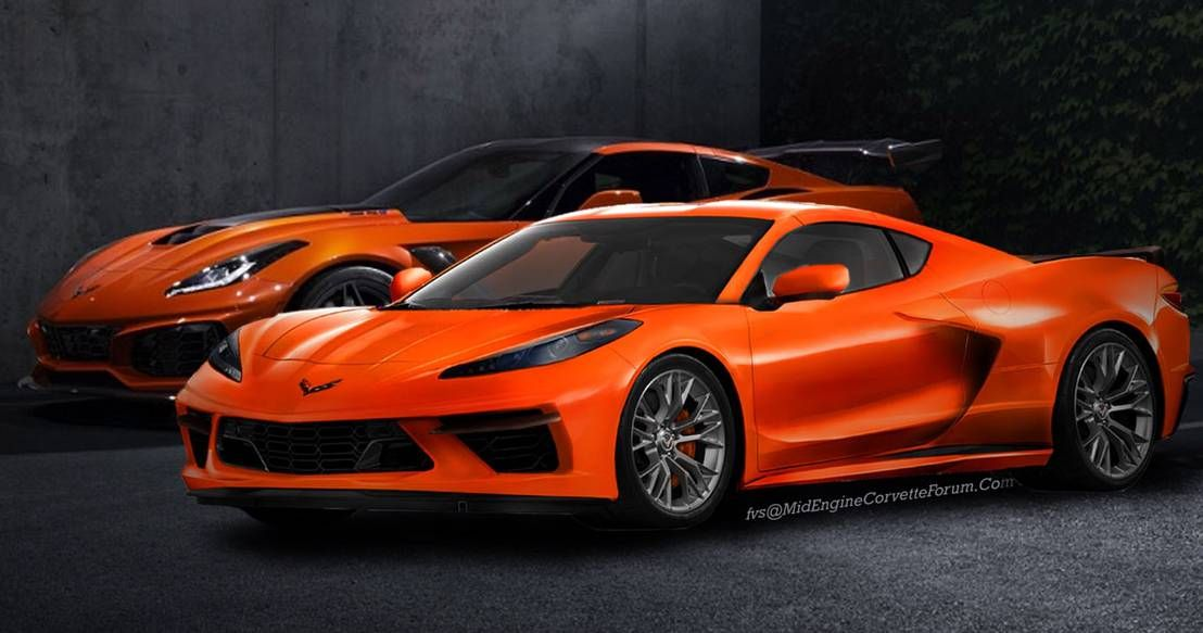 2020 Chevrolet Corvette C8 Is A Magnet For Rendering Artists