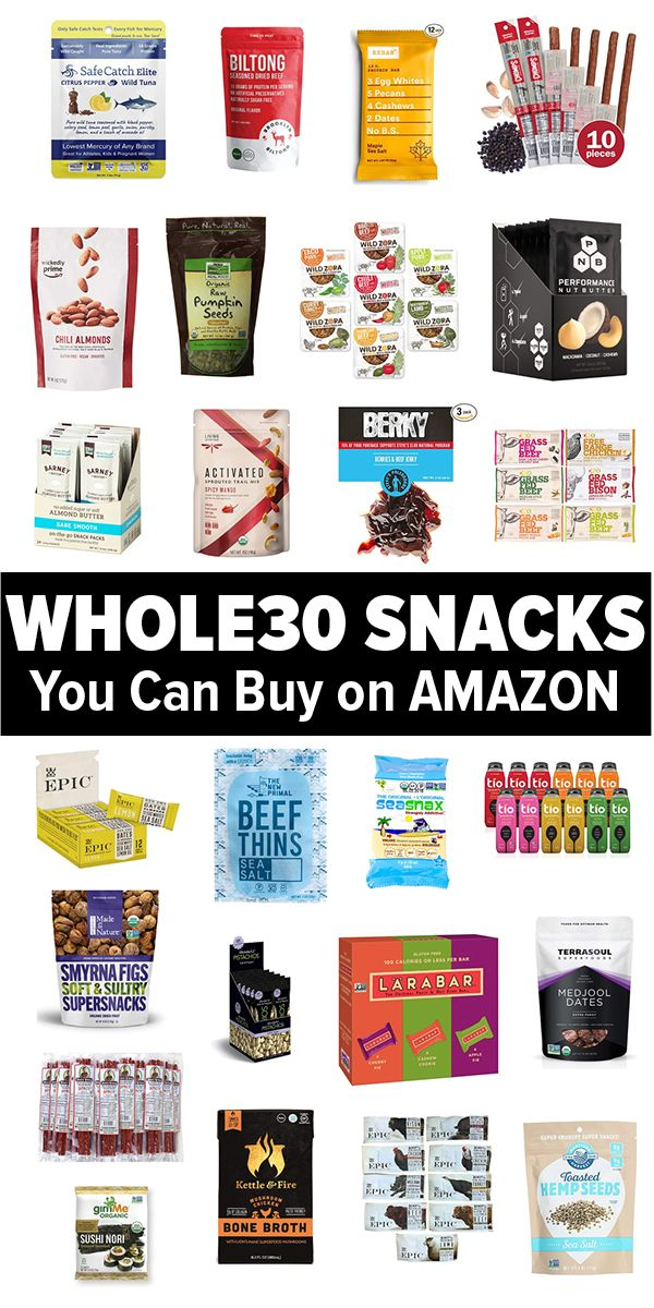 Whole30 Snacks You Can Buy on Amazon (Grab and Go!