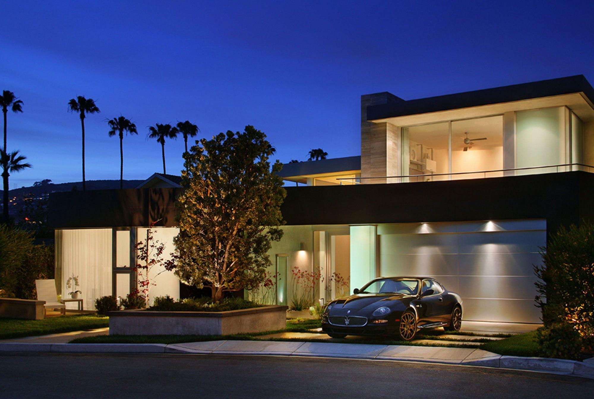 Modern House Garage Design House Interior With Modern Garage Design