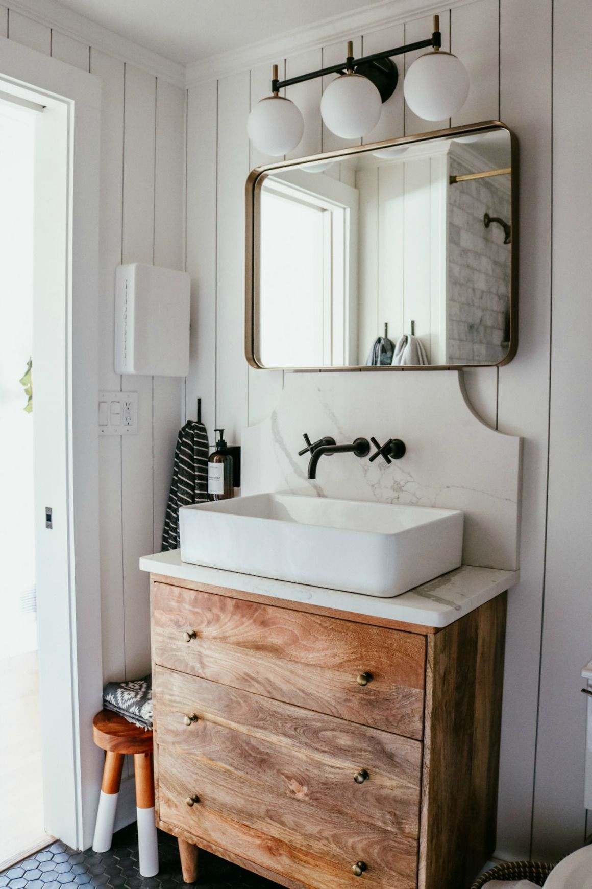 Photo of Main Floor (small) Bathroom Remodel – Nesting With Grace