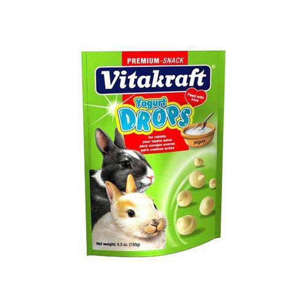 Vitakraft Rabbit Drops 5.3Oz Pouch Yogurt