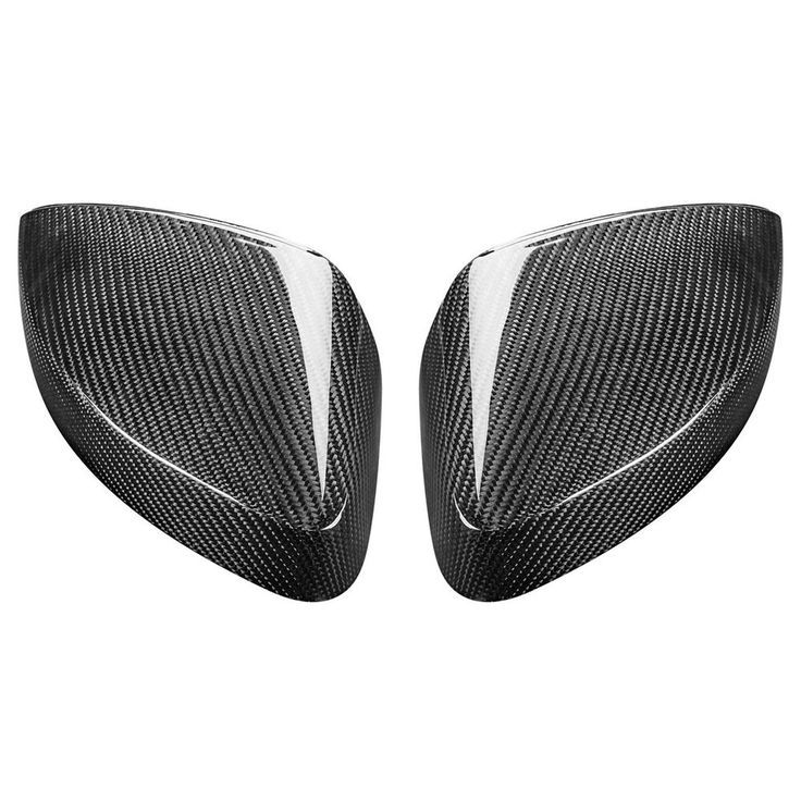 Real Carbon Fiber Side Car Mirror Replacement Caps Cover for…