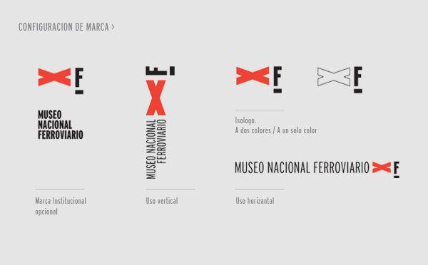 Museo Nacional Ferroviario by Lucía Szych, via Behance