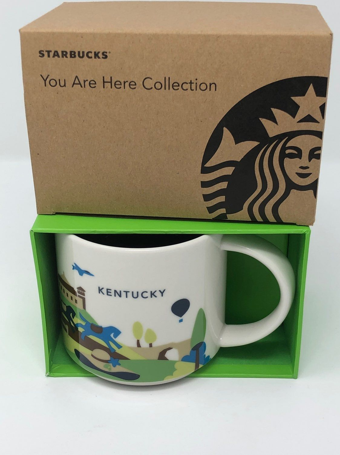 NEW 2014 Starbucks You Are Here Kentucky Collectible