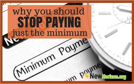 Why You Should Never Pay Just the Minimum Amount Required ...
