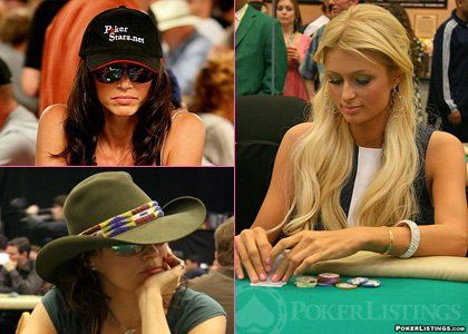 Celebrity Poker Showdown features celebrities playing poker