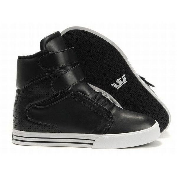 Black · Justin Bieber Supra TK Society High Tops Black White ...