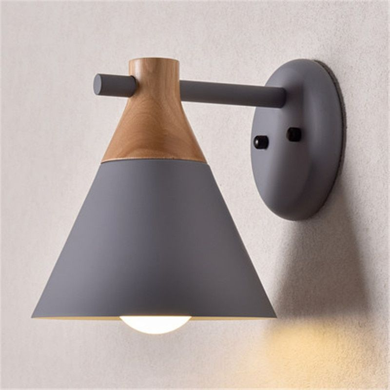 Cheap Led Indoor Wall Lamps Buy Directly From China Suppliers Nordic Loft Style Wood Iron Wall Sconce Modern Led Wall Lights Wall Lights Wall Sconces Bedroom