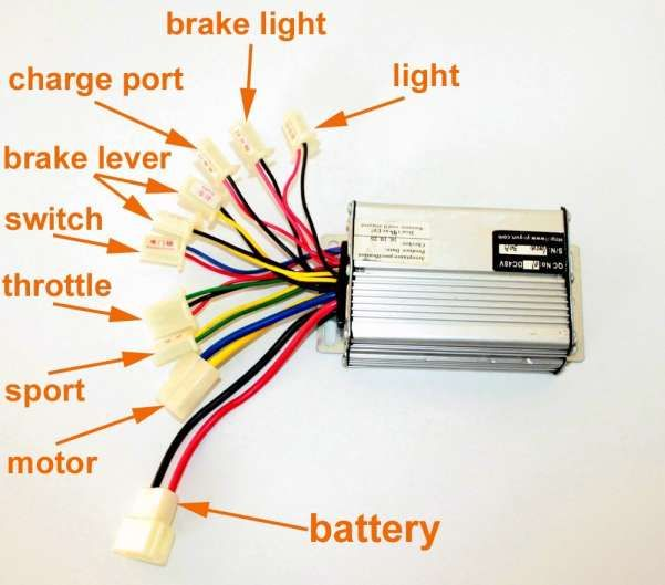48v Electric Scooter Wiring Diagram And Cheap V Electric Wheelchair Controller Find V Electric In 2020 Electric Scooter Electric Bike Diy Electric Wheelchair