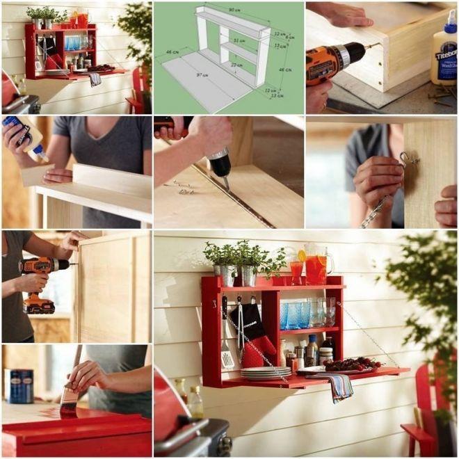 Как сделать настенный шкафчик