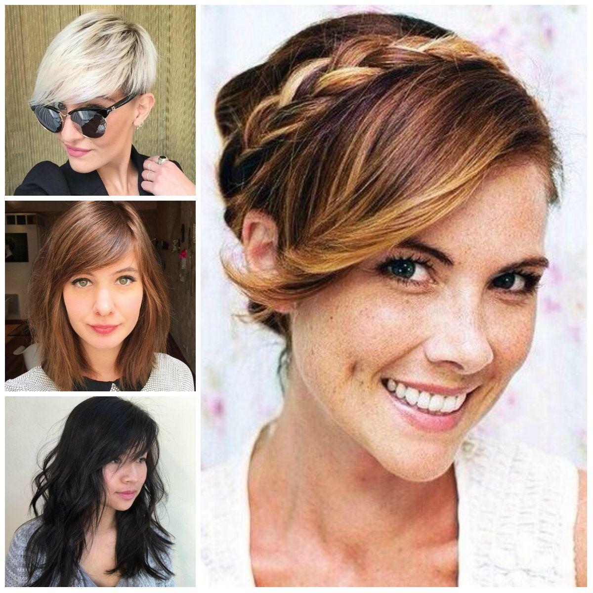 Lado Flequillo Peinados Para El Ano 2017 Peinados Pelo Medio - Peinados-para-el-flequillo