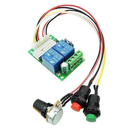 uniquegoods DC Motor Speed Controller PWM Speed Adjustable Reversible Button Switch DC Motor Driver Reversing 6V 12V 24V 28V 3A 80W uniquegoods http://www.amazon.co.uk/dp/B0185HOECE/ref=cm_sw_r_pi_dp_5ja1wb0J5F3B3